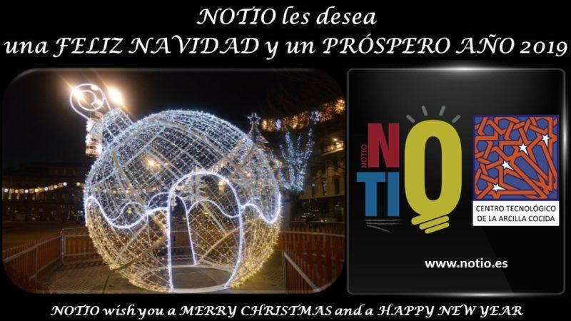 NOTIO les desea Felices Fiestas