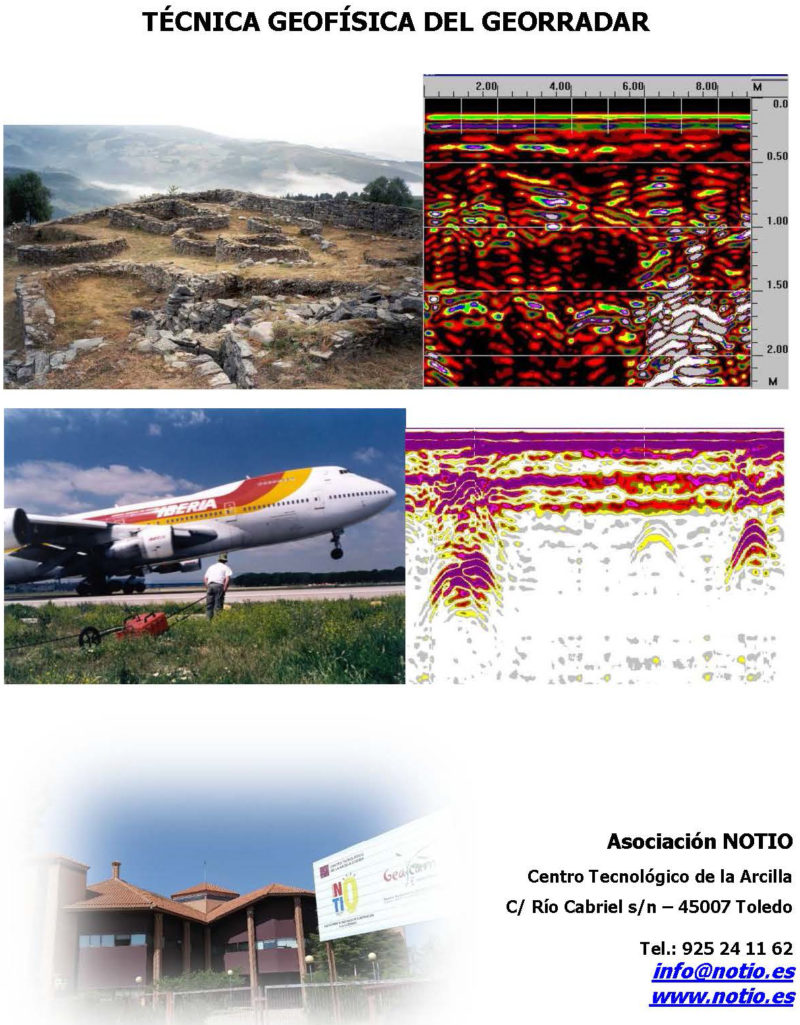 geofisica georradar NOTIO