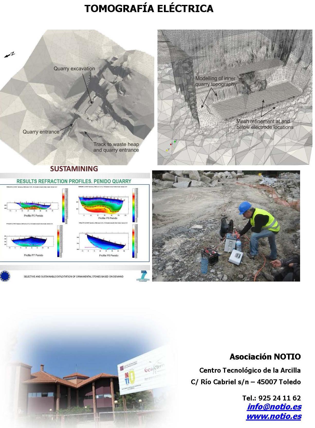 geofisica tomografia eléctrica NOTIO