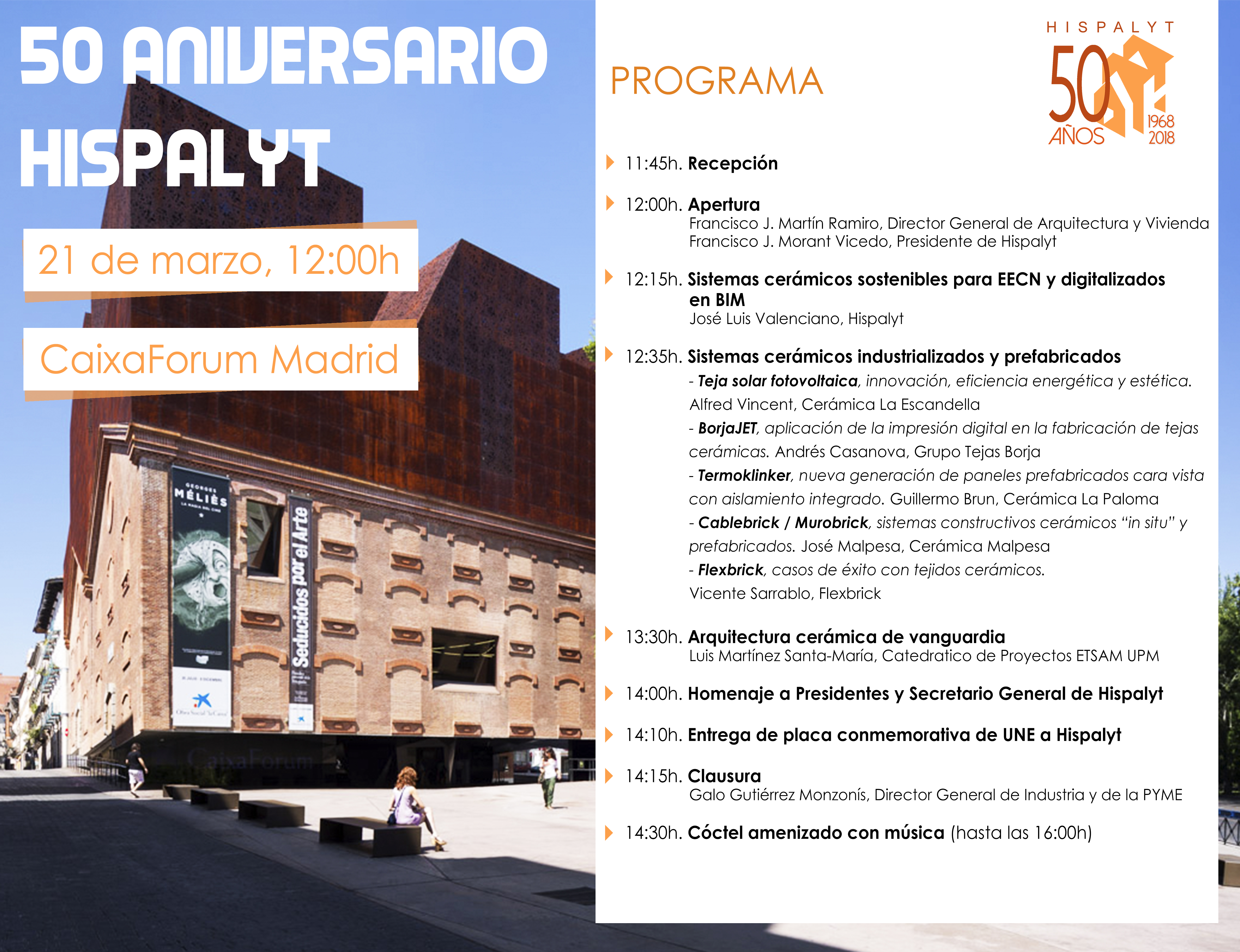 NOTIO 50 aniversario Hispalyt