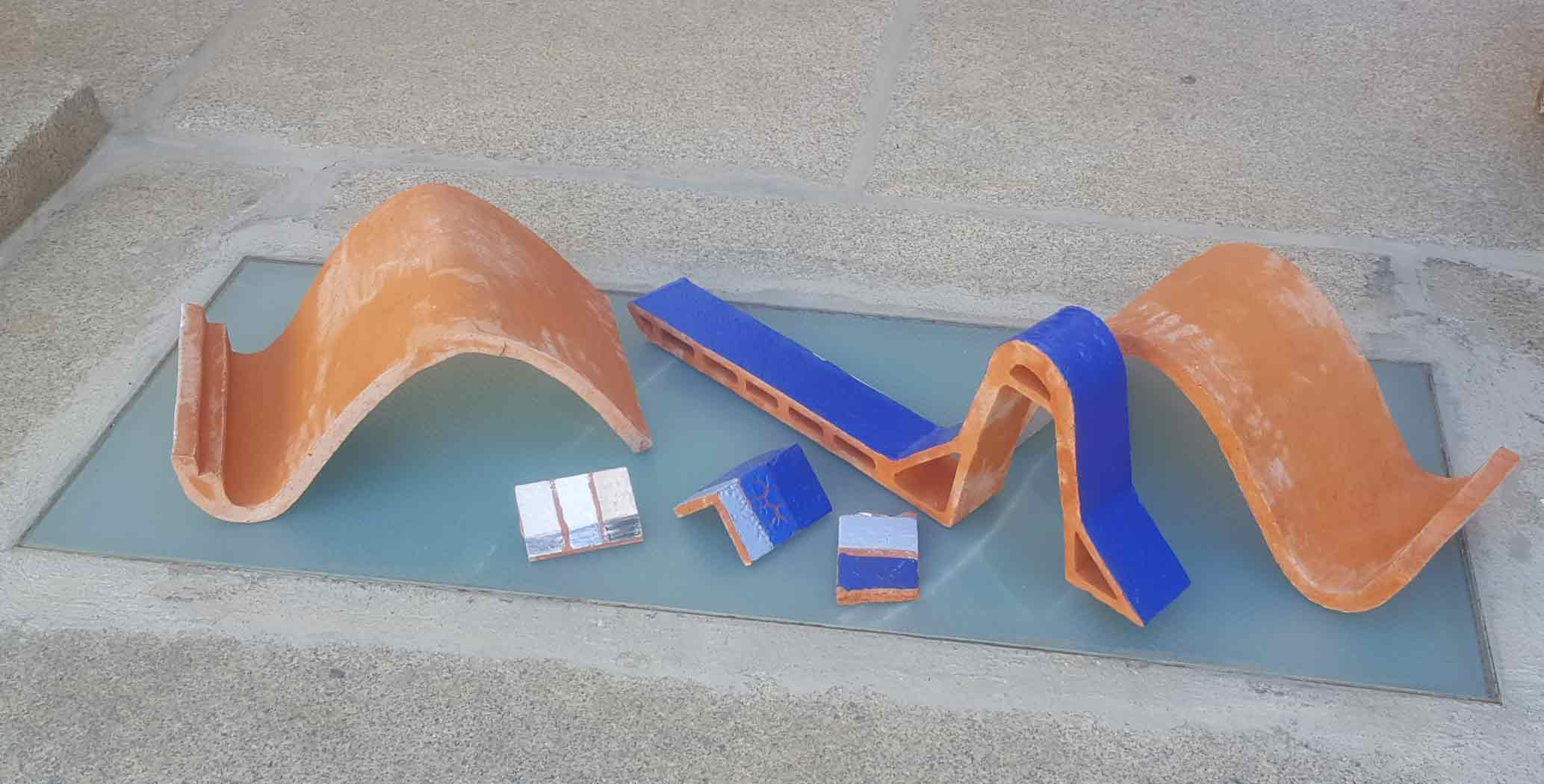 prototipos de piezas cerámicas