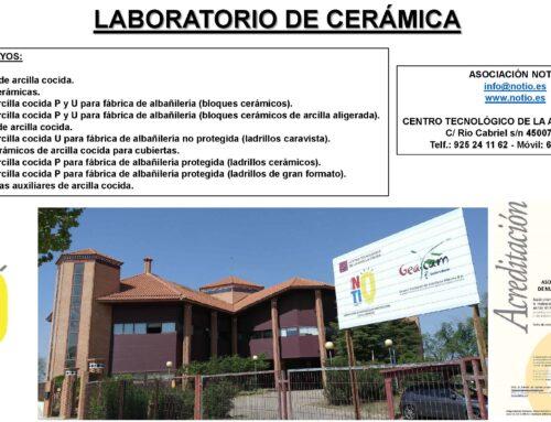 INDUSTRIA CERÁMICA DE LA CONSTRUCCIÓN