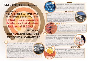 ANEFA NOTIO productos de construcción