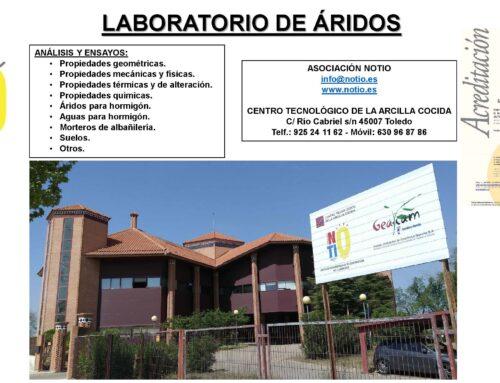 PORTFOLIO NOTIO: ENSAYOS DE ÁRIDOS