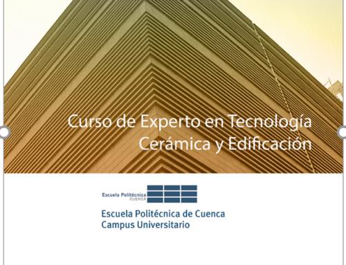 CUARTA EDICIÓN DEL CURSO DE EXPERTO EN TECNOLOGÍA CERÁMICA Y EDIFICACIÓN (EXTCE-4)