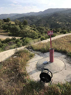 cabril Programa vigilancia hidrogeológica